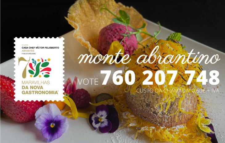 Chef Víctor Felisberto nas 7 Maravilhas de Portugal com Monte Abrantino